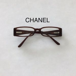 CHANEL brown frame readingglasses Great condition